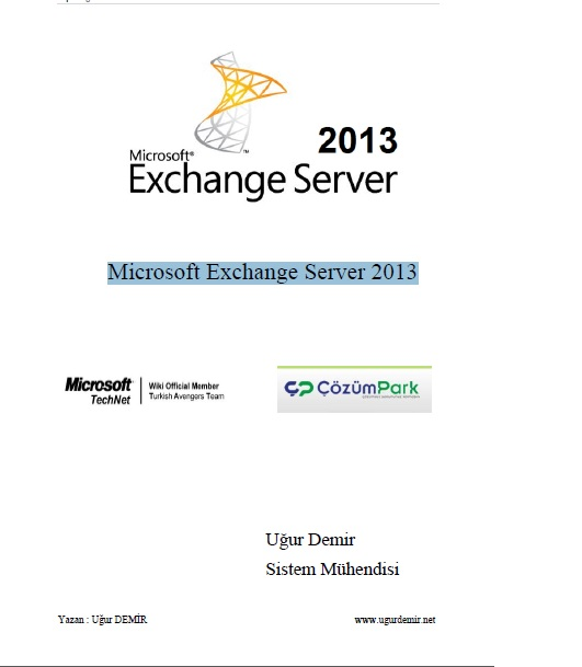 Uğur Demir Exchange 2013 E-Book