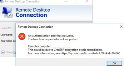 RDP Credssp  Encryption Oracle Remediation Hatası Çözümü
